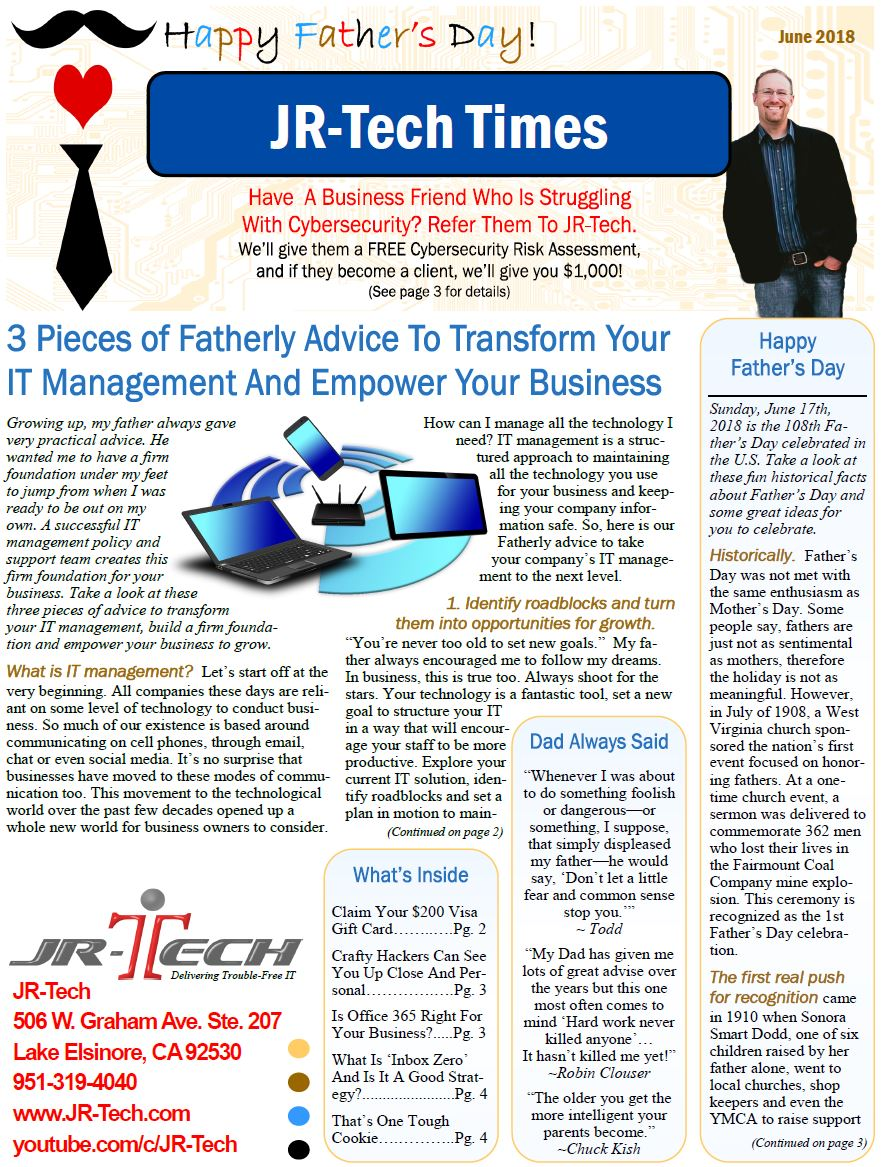 Our June Newsletter Is Published Click Here To Download The